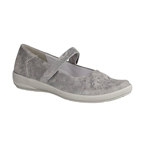 Semler Semler Damen Slipper, Mocassini donna Grau