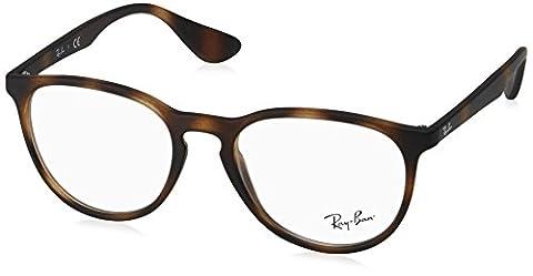 Ray-Ban Damen 7046 Brillengestelle, Schwarz (Negro), 51 - Tortoise Plastica Occhiali