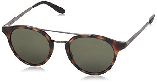 Carrera Unisex-Erwachsene 123/S QT W21 Sonnenbrille, Grau (Havana Dkruth/Green), 49