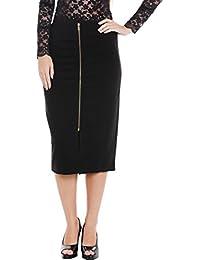 Front Zipper Skirt