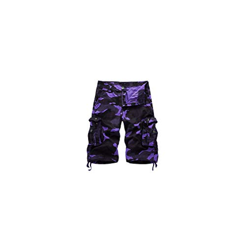 aoliaoyudonggha 2019 Military Camo Cargo Camouflage Multi-Pocket Homme Army Casual Shorts Bermudas Plus Size -