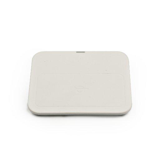 Zens ZESC02W/00 kabelloses Ladegerät für Qi kompatible Smartphone weiß (Handy-powermat)