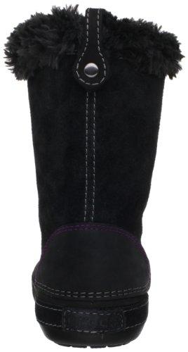 Crocs Berryessa Hiker Boot, Damen Stiefel Schwarz (Noir (Black/Black))
