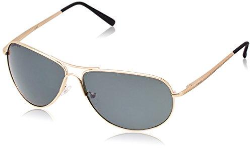 Fastrack Aviator Sunglasses (Grey)- (M050GR10) image