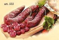 Salsiccia calabrese dolce stagionata kg.1