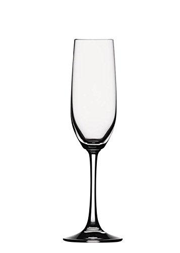 Spiegelau Vino Grande Sektkelch, 4er Set, Proseccokelch, Champagnerkelch, Sektglas, Proseccoglas, Champagnerglas, Kristallglas, 178 ml, 4510275 Vino Grande