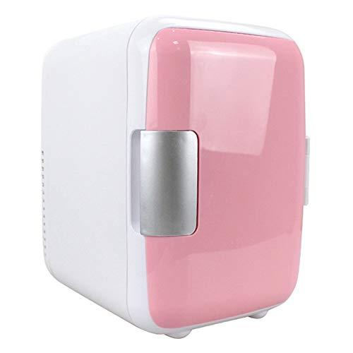 Mini frigo Portatile Compatto Portatile, raffredda e riscalda, 4 Litri di capacità, 100% Senza freon e Eco-Friendly, Include Tappi per Presa di casa e caricabatteria da Auto 12V