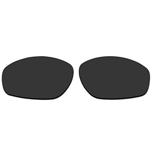 Acompatible OO9091 Ersatzgläser für Oakley Encounter-Sonnenbrille, Black - Polarized
