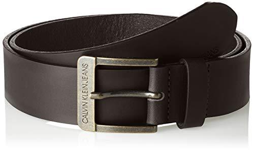 Calvin Klein Jeans J 4cm Ckj Belt Cintura, Nero (Black 001), 7 (Taglia Produttore: 95) Uomo