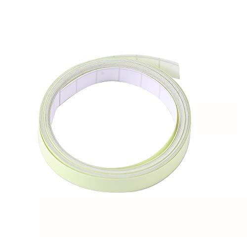 4 cm x 5 m Muchkey Cinta reflectante de alta intensidad color blanco