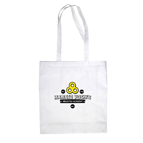 Hamato Yoshis Ninjutsu Academy - Borsa Di Stoffa / Sacchetto Bianco