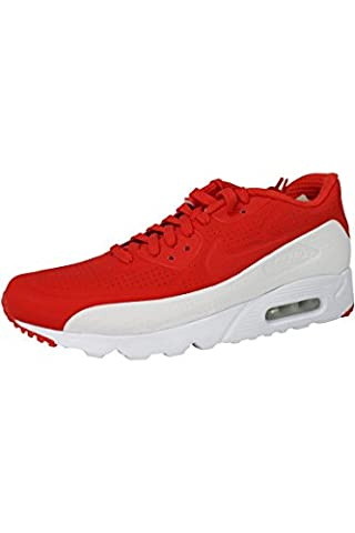 Nike Men's Air Max 90 Ultra Moire Trainers Red Size: 8 UK