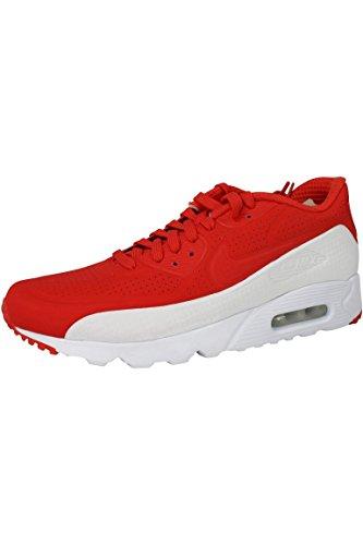 Nike Herren Air Max 90 Ultra Moire Turnschuhe, Rojo (Lt Crimson/Lt Crimson-White), 42 1/2 EU (Nike Air Max 90 Moire)