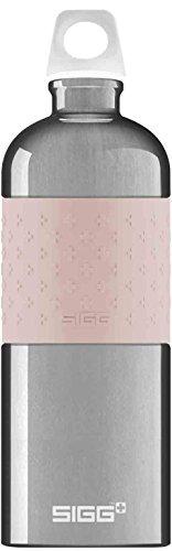 Sigg CYD Alu Blush, Design Trinkflasche, 1 L, BPA Frei, Aluminium, Rosa, Mehrfarbig, 1.0 L