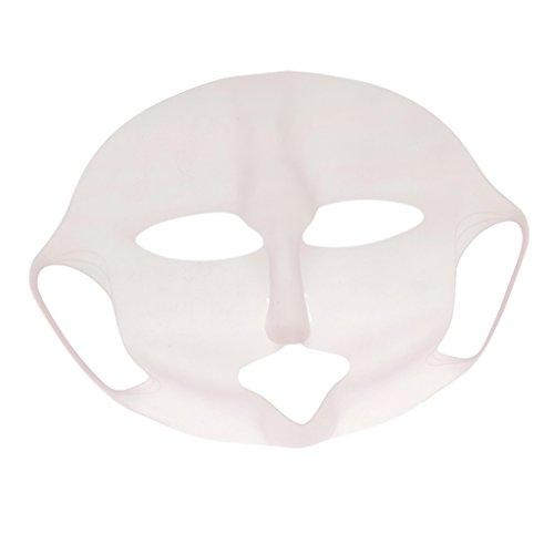 FLAMEER Silikon Gesichtsmaske Anti-Aging Augenringe Maske Facial Feuchtigkeitsmaske