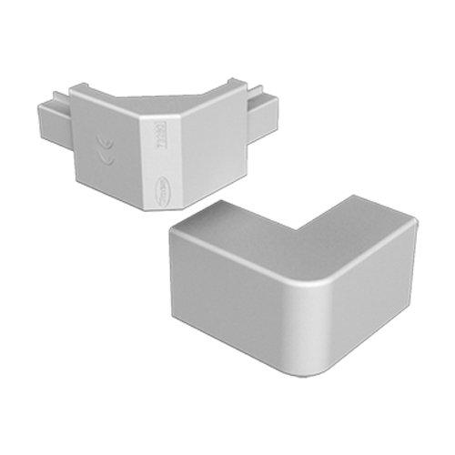 Unex 73282–04U24X Winkel außen, grau, 60mm Höhe x Breite 90mm