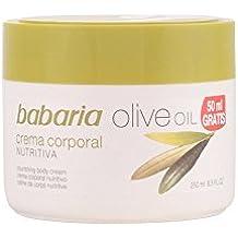 Babaria Crema Nutritiva Corporal con Aceite de Oliva - 250 ml