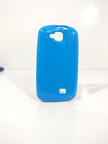 iCandy™ Colorfull Thin Soft TPU Back Cover For Micromax Canvas Fun A63 - Turquoise  available at amazon for Rs.109
