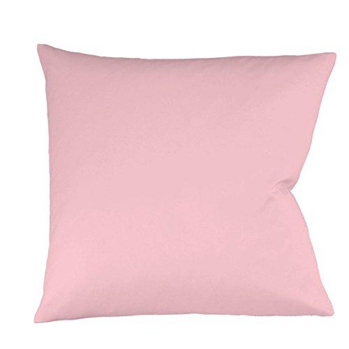 Fleuresse Mako-Satin-Kissenbezug uni colours rose 4040 Größe 40 x 80 cm thumbnail