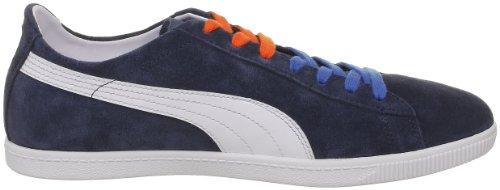 Puma Glyde Lo M 354616, Sneaker unisex adulto Blu (Blau (midnight navy-white-valla 02))