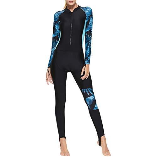 Schutz Lange Ärmel Taucheranzug Ganzkörperansicht Badeanzug - Damen Watersport Quick Drying Snorkeling Wetsuit Badebekleidung ()