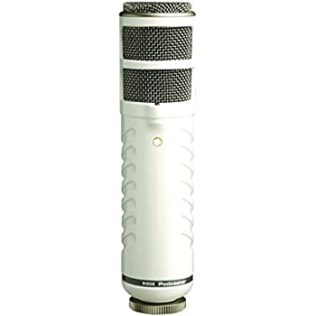 RØDE Podcaster Dynamic Large-Diaphragm Microphone with USB Connection for Mac and PC