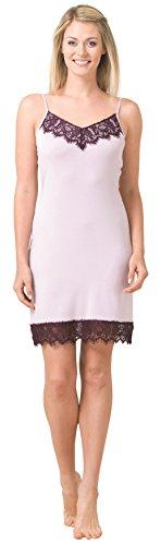 Blackspade Damen Unterkleid Violett - Fliederfarben