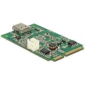 DeLock Mini PCIe I/O PCIe Full Size 1 x USB Type-C 3.1 Gen 2 Buchse -