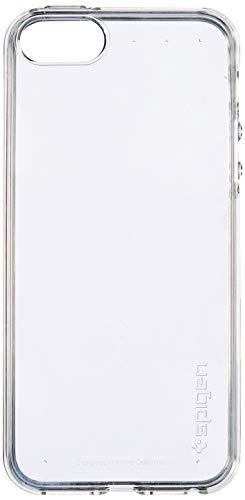 Spigen 041CS20247 Liquid Air Kompatibel mit iPhone SE/5S/5 Hülle, Stylisch Muster Design Handyhülle Schutzhülle Capsule Case Crystal Clear