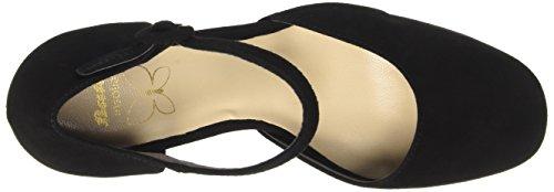 Bata Ladies 7236962 Scarpe Con Cinturini Neri