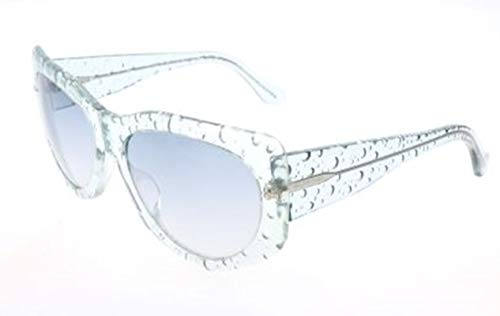 Balenciaga Damen Ba0034 84B-58-17-140 Sonnenbrille, Blau, 58