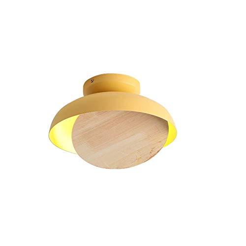 LPZF Runde Decke Zimmer Kinderzimmer, Moderne Deckenlampe LED 12w Esszimmer Küche Kinderzimmer Café Schlafzimmer-natürliches Licht-c 28x13cm
