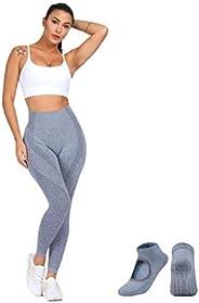 Leggings for Women| High Waisted Leggings Seamless| Tummy Control | Body Shapewear | Pants Leggings for Runnin
