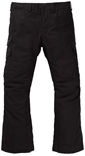 Burton cargo regular, pantaloni da snowboard uomo, true black, m