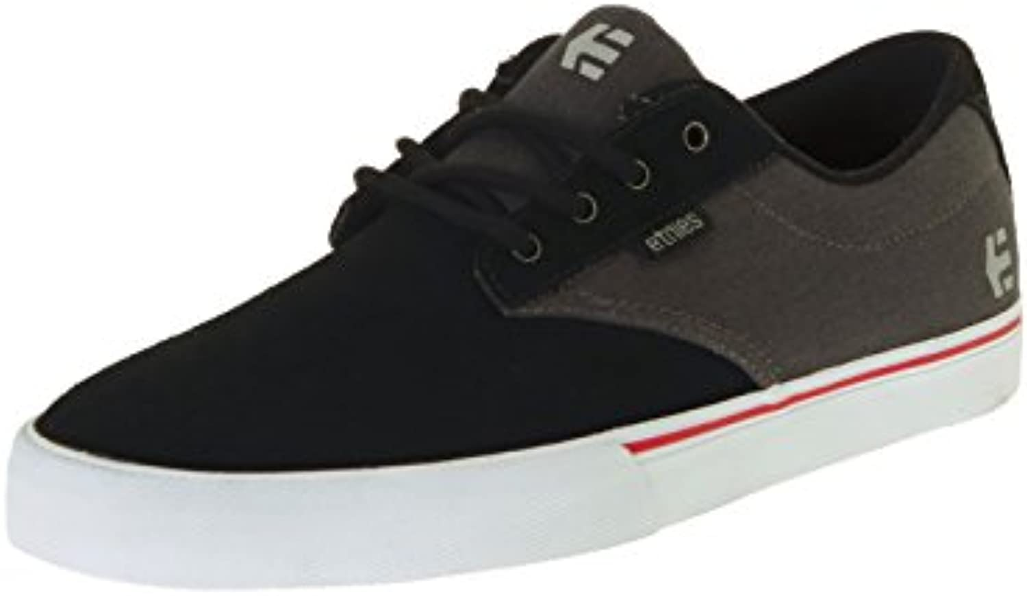 etnies Jameson Vulc' Black/Dark Grey/Silver.  -