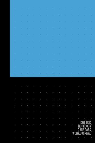 Dot Grid Notebook Daily Task & Work Journal