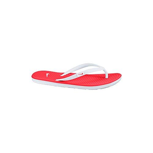 Nike - Infradito Da Donna Solarsoft Thong II - Colore: Arancione-Bianco - Taglia: 40.5