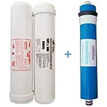 Juego 2 filtros y membrana osmosis acuario