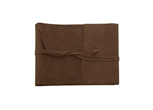 Coles Amalfi-Album per foto, in pelle, colore: cioccolato, taglia: (Cioccolato Photo)