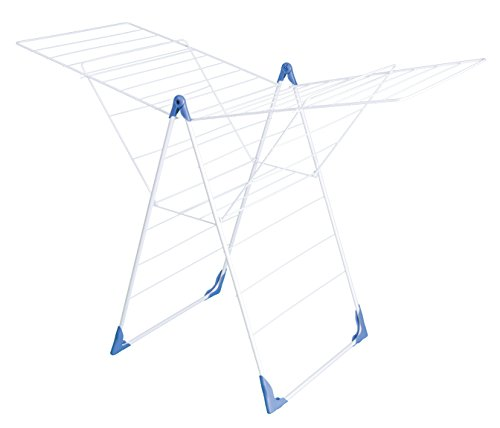 herby-3057-sechoir-a-poser-acier-thermoplastifie-thermolaque-blanc-bleu-61-x-6-x-99-cm