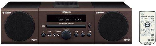 Yamaha MCR 040 Kompaktanlage (MP3-CD-Player, Apple iPod-Dock, USB) braun (Yamaha Ipod)