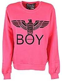 76598dd63885 Boy London Felpa Maglia Donna Girl Ragazza Logo Moda Stampa Sweater BLD1505