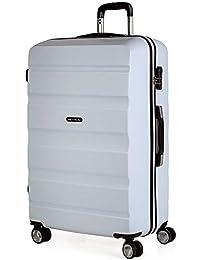 ITACA - Maletas de Viaje Trolley ABS Lisas. Rígidas Resistentes y Ligeras. Asas 4