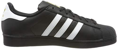 adidas Originals Superstar Foundation Herren Sneakers, Schwarz - 6
