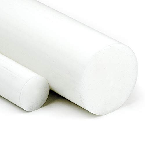 POM Rundstab natur Ø 80mm | L: 75mm (7,5cm) - Kunststoffstab auf Zuschnitt