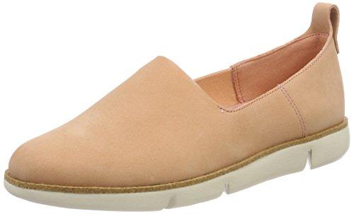 Clarks Damen Tri Curve Slipper, Pink (Pink Nubuck), 38 EU