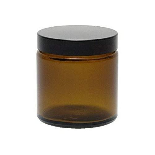 Viva Haushaltswaren # 39533/# 2/Cristal Tiegel 500/ml//pomada Tiegel//Crema Tiegel//Cristal latas de Cristal Incluye Etiquetas Autoadhesivas marr/ón, 11/x 11/x 8.5/cm
