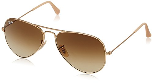 Ray-Ban Aviator Sunglasses (Brown Gradient) (0RB3025112/8558)