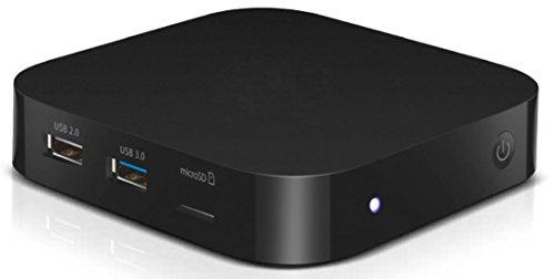 TrekStor 38161 Mini-PC Desktop PC (Intel Atom x5-Z8300, 32GB Speicher, 2GB RAM, Win 10 Home) Schwarz (2-gb-microsdhc-speicher)
