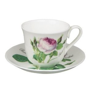 Roy Kirkham, Jumbotasse Redoute Roses 400ml Fine Bone China